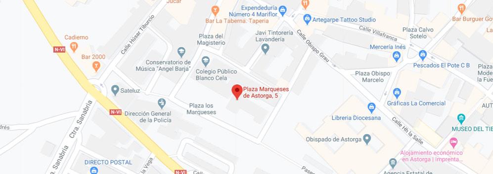 situacion registro civil de Astorga